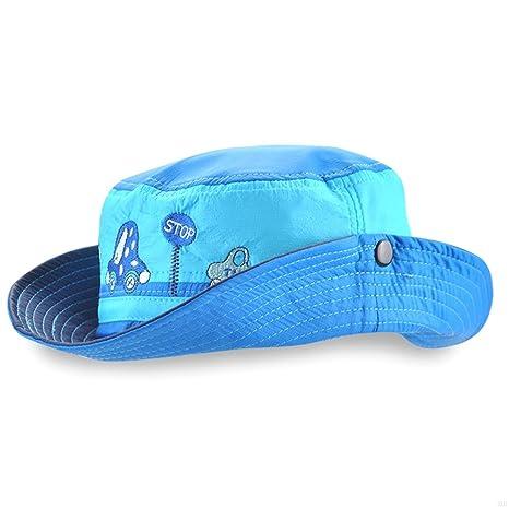 f3ca238894c GADIEMENSS UPF 50+ Kids Hat Wide Brim Sun Hats Most Children Ages 1 ...