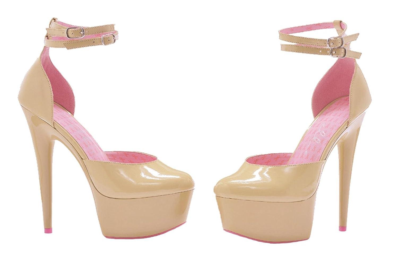 Ellie Shoes Women's 609-Curissa D'Orsay Pump B0089MLF32 Size 10|Multi