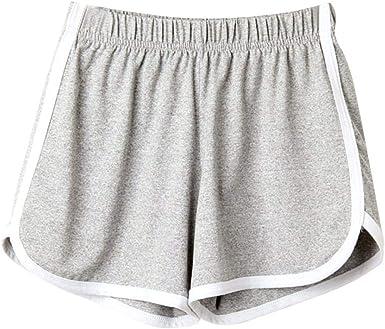 Pantalones De Verano Lhwy Elegante Moda Mujer Dama Pantalones Cortos Especial Estilo Deportivos Playa Pantalones Cortos Ocio Pantalones De Chandal Una Linea Pantalones De Yoga Amazon Es Ropa Y Accesorios