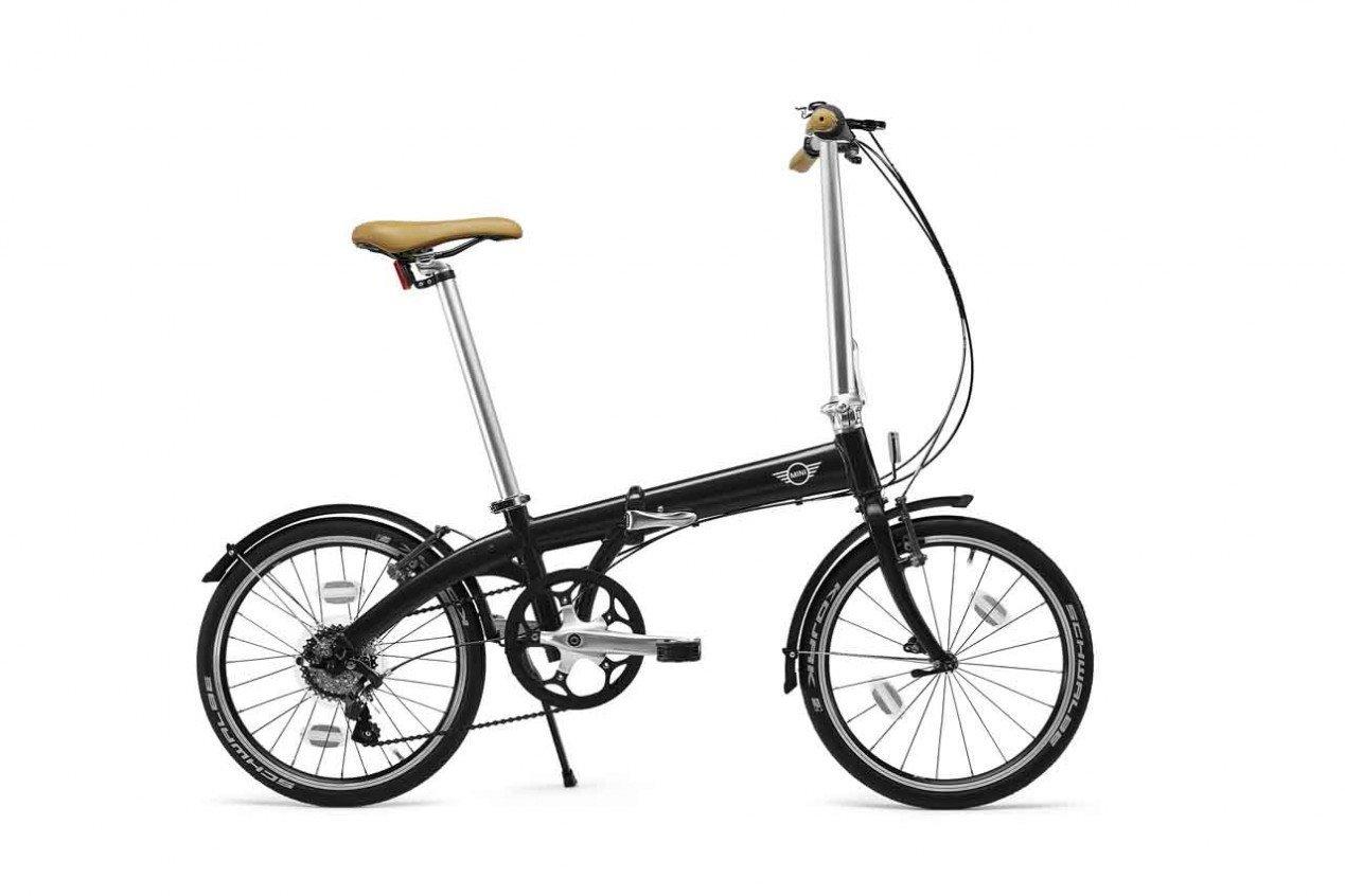 Original Mini Folding Bike bicicleta plegable para bicicleta plegable bicicleta BMW 80912413798 + Buena conducción funda regalo gratis: Amazon.es: Coche y ...