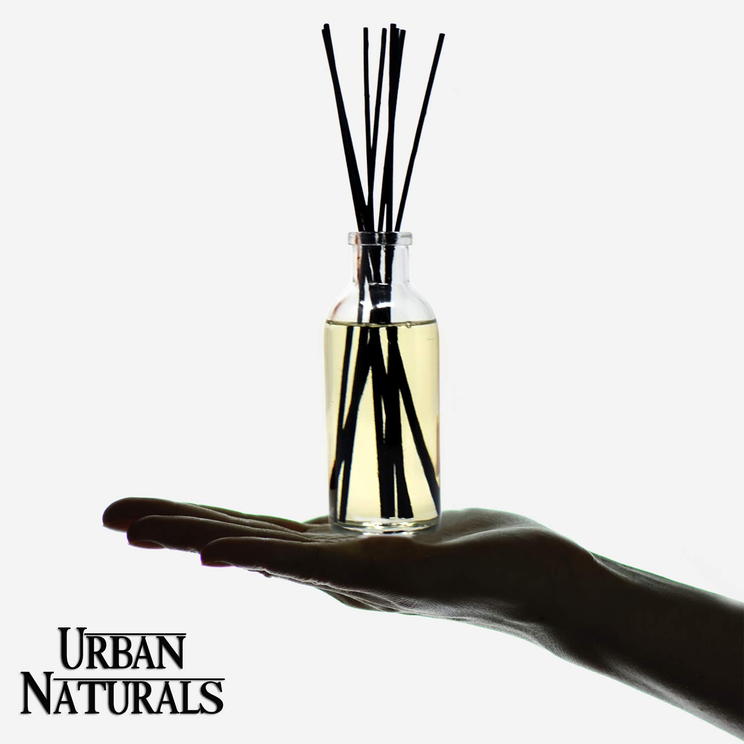 Urban Naturals Stress Relief Eucalyptus Spearmint Reed Diffuser Oil Refill | Fill Your own DIY Diffuser Bottle! Includes Replacement Reed Sticks by Urban Naturals (Image #5)