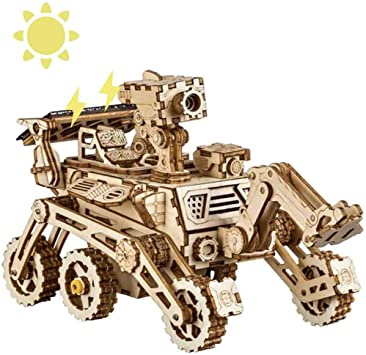 HLMAX Solar Powered Stem Toys Cutting Robot DIY Kits de Modelo de ...