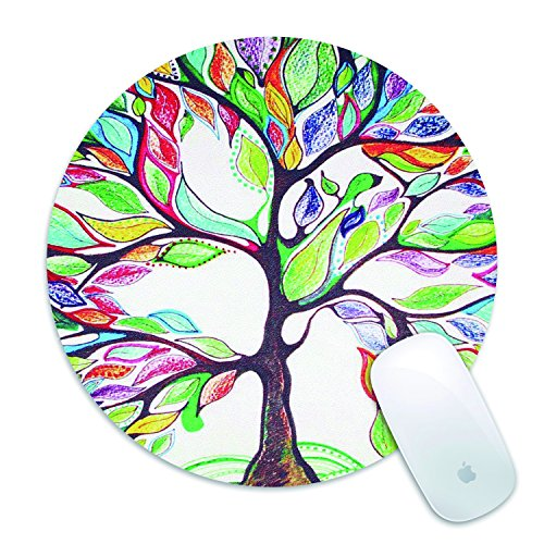Non Slip Mouse Pad, Elegant Ink Painting Gaming Mouse Pad for Office, Computer, Laptop(Tree love)