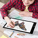 [Digital Nanny] A4 Ultra-Thin Portable LED Light Box Tracer USB Power Cable Dimmable Brightness LED Artcraft Tracing Light Pad for Artists Drawing Sketching Animation Stencilling X-rayViewing