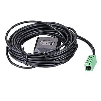 Kenwood GPS Antena gt5 Conector Coche GPS Coche Antena Auto Suministros: Amazon.es: Electrónica