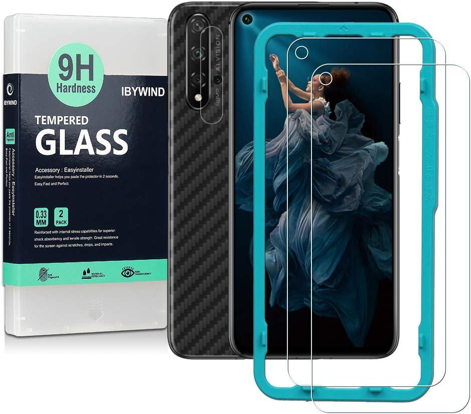 2 vidrios templados para Honor 20 / Huawei Nova 5T
