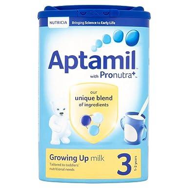 Aptamil Crecer Leche En Polvo Para Bebés 1Yr + (900g) (Paquete de 6