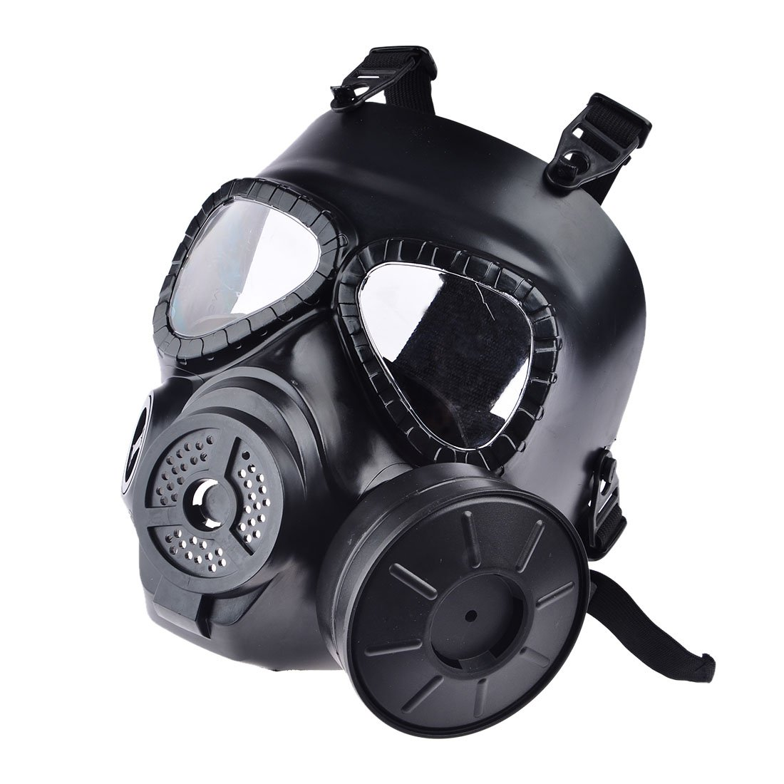 Máscara de airsoft de Foxom, protección de rostro completo, máscara táctica con respirador: Amazon.es: Deportes y aire libre