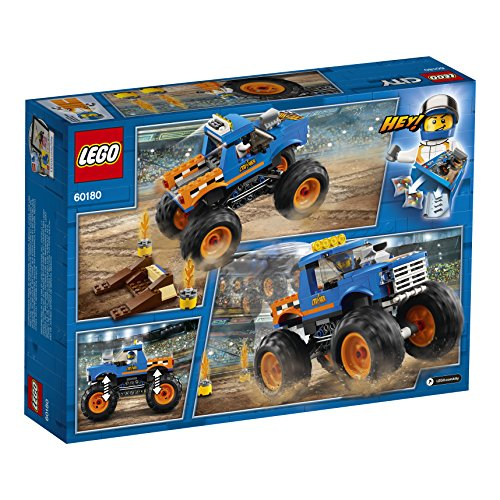 61yyEDOnTTL - LEGO City Monster Truck 60180 Building Kit (192 Piece)