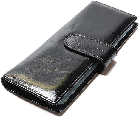 Homme nouveau haute qualité slim souple noir cuir véritable carte de crédit titulaire wallet