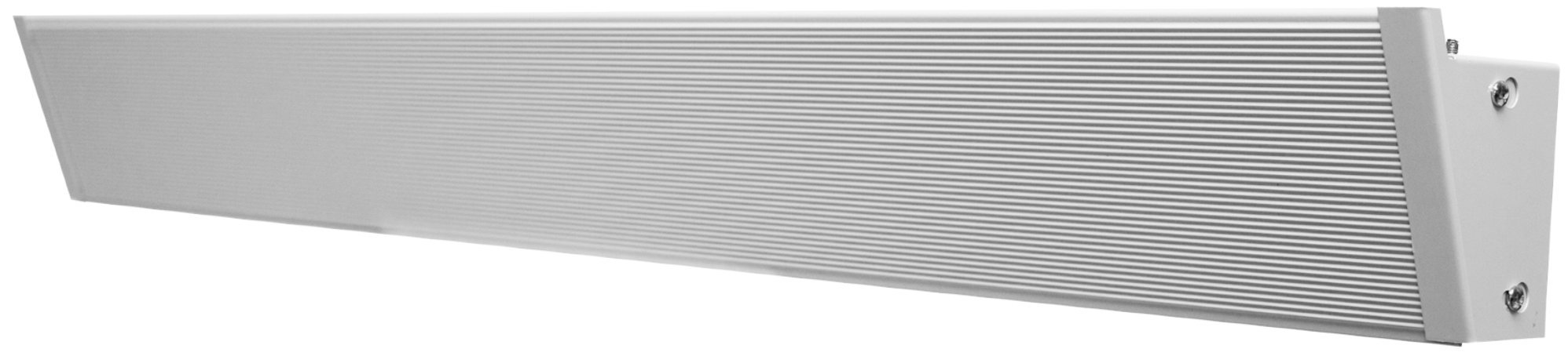 King Electric 750-Watt 240-Volt 59-Inch Radiant Convection Cove Heater, White