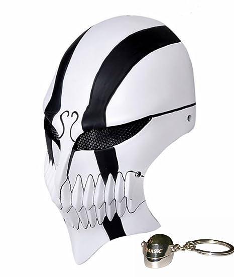 Gmasking Bleach Ichigo Kurosaki Cosplay máscara de Paintball del airsoft cara completa
