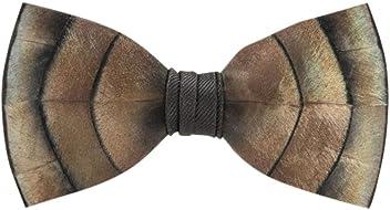 40e6d570e84b Brackish Feather Pre-tied Bow tie - Original (101-BRK)