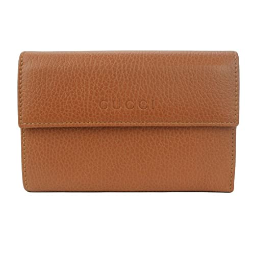 463f5b6eb6df Gucci Women's Leather French Flap Wallet 370823 2575 (Saffron): Amazon.ca:  Shoes & Handbags