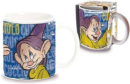 Disney Seven Dwarfs Puppy Mug en taza de cer/ámica en caja de regalo D00981MC