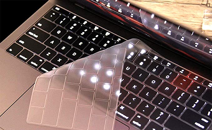 2016.10 Release,Model A1706//A1707 Clear Ultra Thin TPU Transparent Keyboard Cover Skin for MacBook New Pro 13//15 inch with Touch Bar