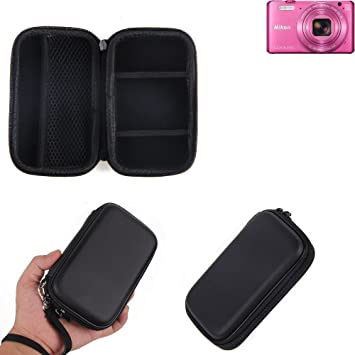 K-S-Trade Caso Duro, Estuche para cámara compacta Nikon ...