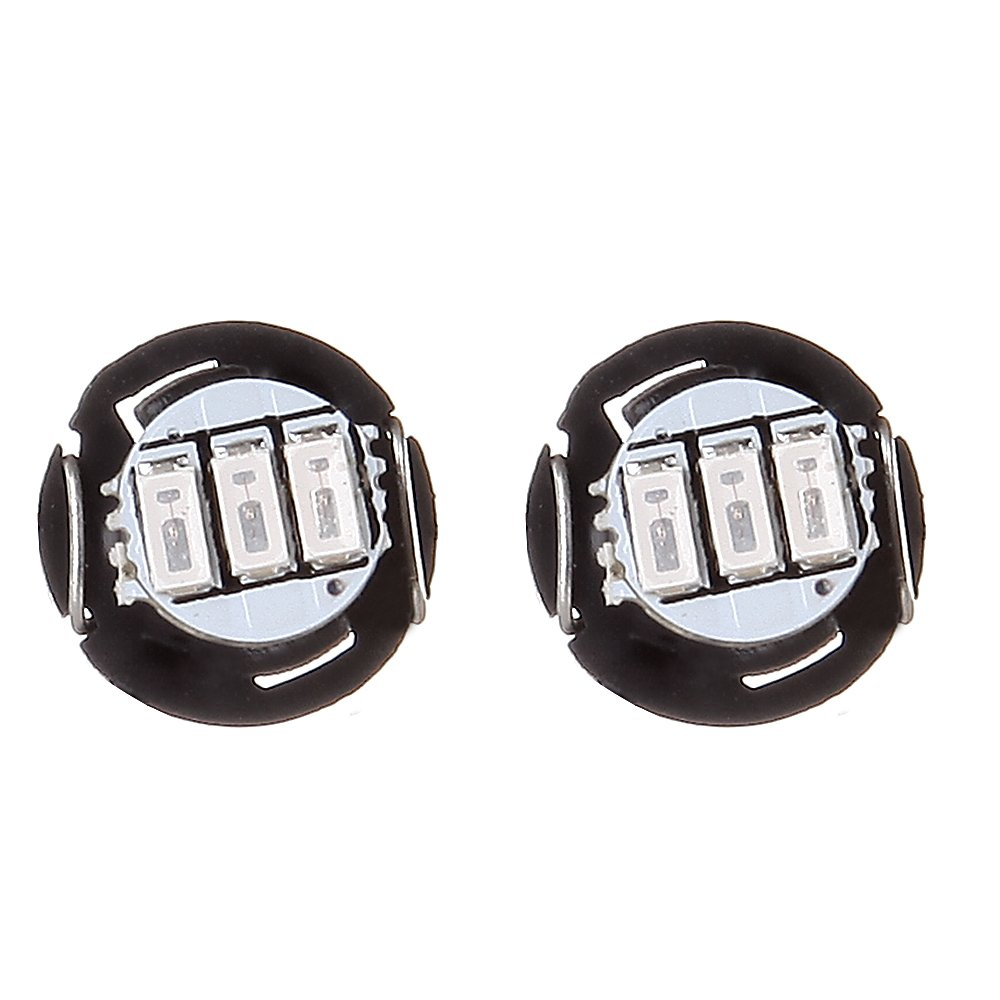cciyu 10 Pack T4.2//T4 Green 3014SMD 3LED Neo Wedge LED Light Dashboard Side Indicator Lights