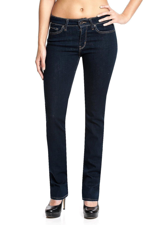 Levis Jeans Women 714 STRAIGHT 21834-0000 Lone Wolf