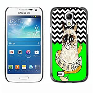 Dragon Case - FOR Samsung Galaxy S4 Mini i9190 - Become a grown up - Caja protectora de pl??stico duro de la cubierta Dise?¡Ào Slim Fit
