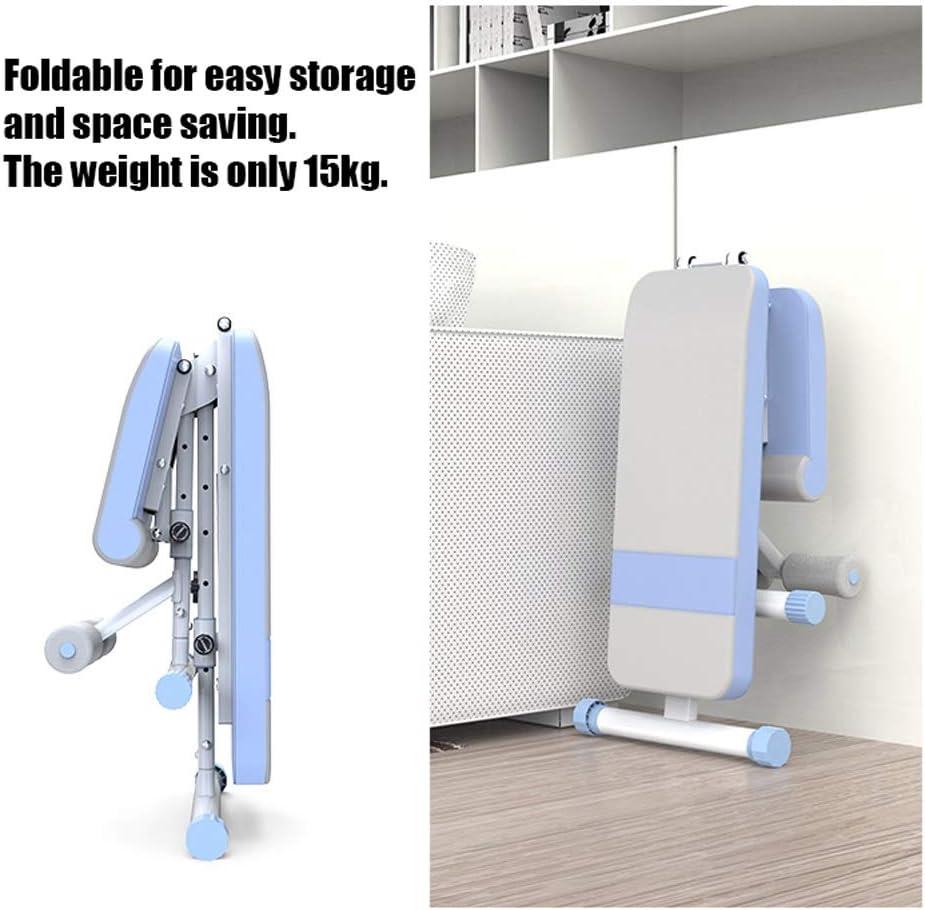 Weiss XJMM Verstellbare Hantelbank Heavy Duty Multi Use /Übung Home Training Gym Gewichtheben Bank Hebe Dienstprogramm Workout Bench Folding Krafttraining Bank