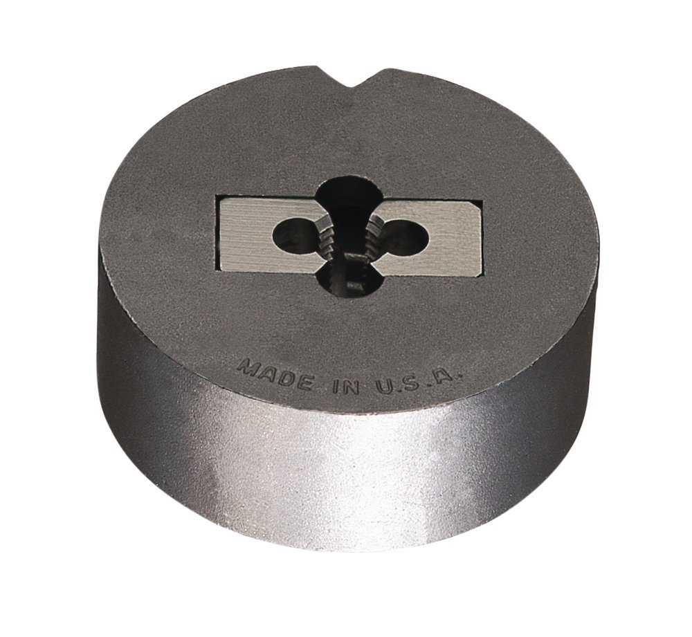 Right Cut Carbon Steel 1-8#5 Uncoated Greenfield Threading 423055 Die System Complete Assembly Bright Coating 2-Piece