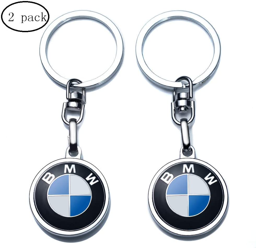 2pcs /… JIYUE Compatible for BMW Keychains 3D Car Logo Key Chain Key Ring Accessories,Suit for BMW 1 3 5 6 Series X5 X6 Z4 X1 X3 X7 7 Series Gift Present for Men and Woman