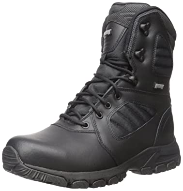 Magnum Mens Response III 8 Steel Toe Military and Tactical Boot Black