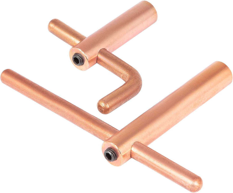 Mophorn XA4 Pince de Remplacement pour Pistolet /à Souder Diam/ètre de 20mm Pince /à Souder par points de 120mm de longueur