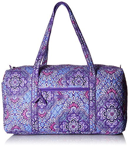 Women's Large Duffel, Signature Cotton, Lilac Tapestry