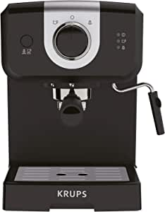 KRUPS XP3208 15-BAR Pump Espresso and Cappuccino Coffee Maker, 1.5-Liter, Black