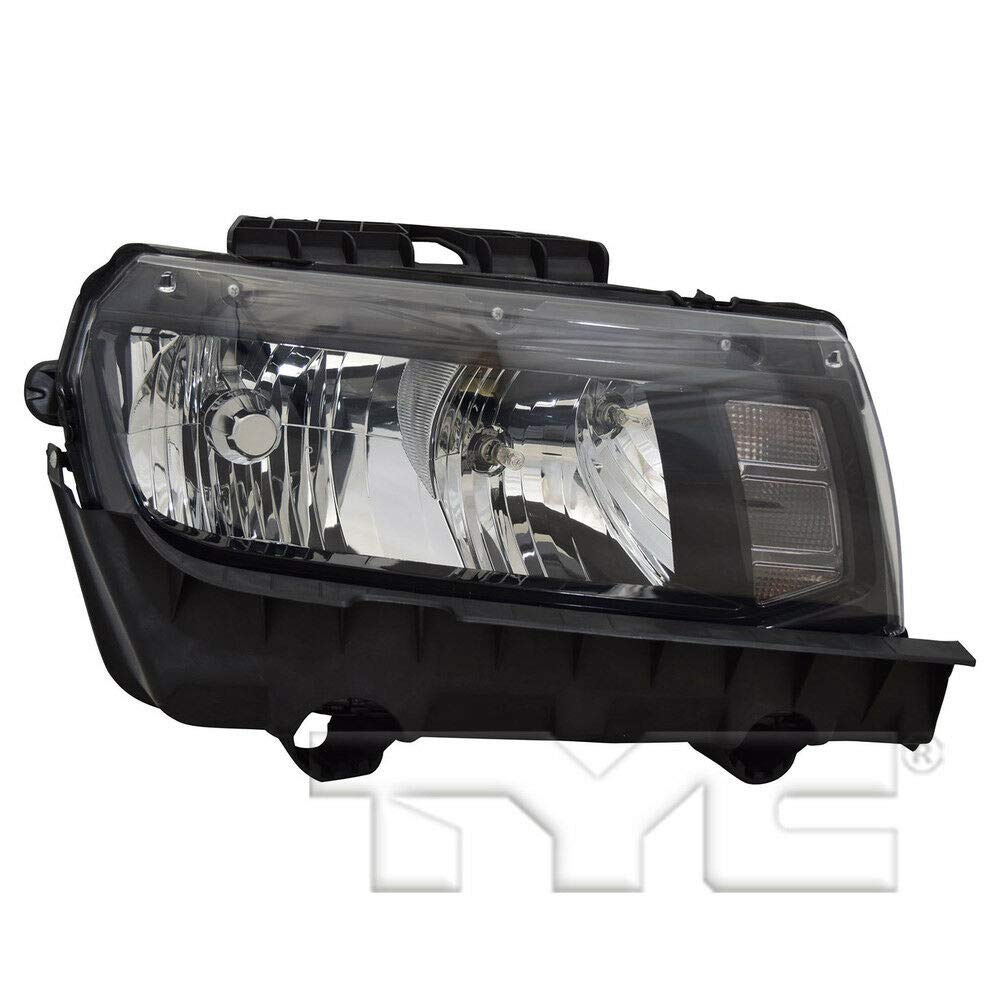 TYC 20-14761-00-1 Replacement Right Head Lamp for Chevrolet Camaro