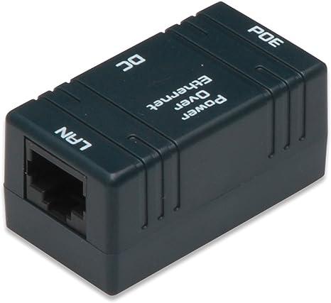 1 Paar PoE Splitter Power Over Ethernet Splitter Adapter f/ür RJ45-Netzwerkkabel PoE-Splitter-Injektor