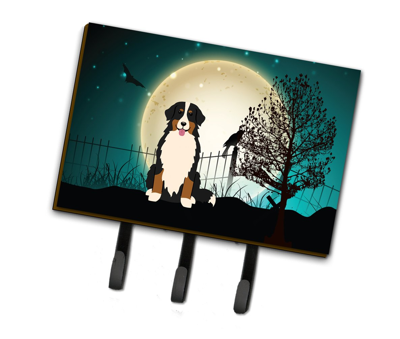 Carolines Treasures Halloween Scary Bernese Mountain Dog Leash or Key Holder BB2226TH68 Triple Multicolor