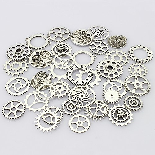 lollibeads-tm-antiqued-silver-skeleton-steampunk-watch-gear-cog-wheel-sets-tibetan-silver-40-pcs