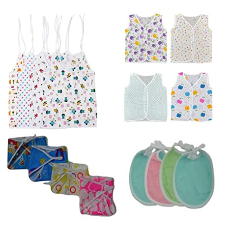 dd21a8ec00c Buy VPT 16 Pcs Newborn Baby Infant Girl Boy Nappie (Baby Cloth Gift Set) Online  at Low Prices in India - Amazon.in