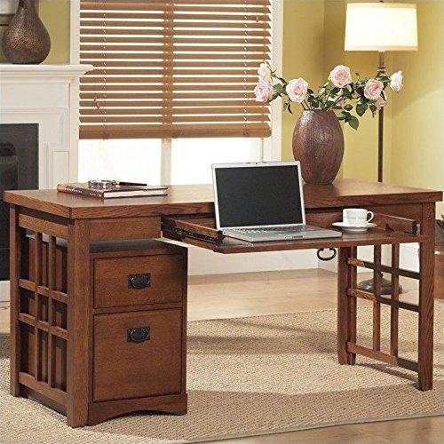 Martin Furniture Mission Pasadena Laptop/Writing Desk (Desk Style Euro Writing)