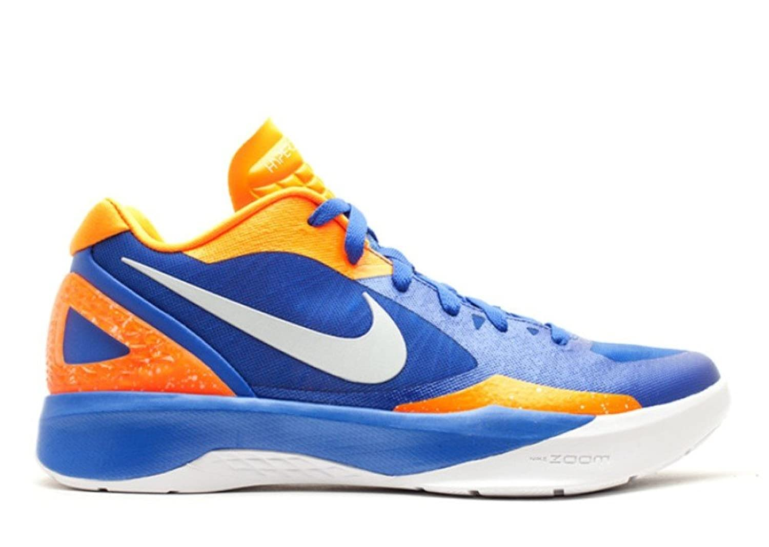 Amazon.com | Men\u0027s Nike Zoom Hyperdunk 2011 Low 487638 418 Treasure Blue  White Orange (Men\u0027s 11.5, Treasure Blue White Orange) | Basketball