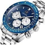 WWOOR Men's Analog Quartz Watch Ultra Thin...