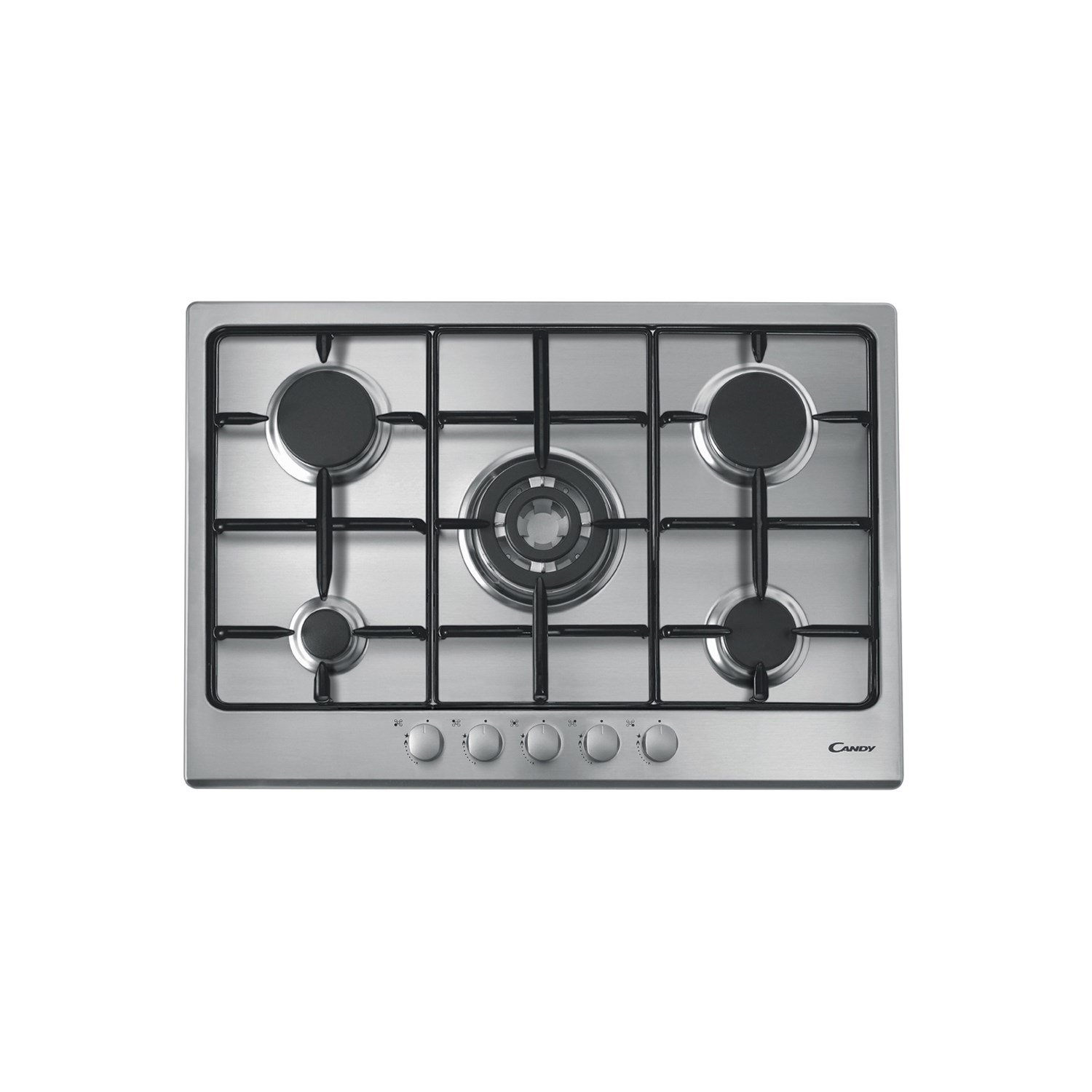 Candy CPG 75 SQPX built-in Gas Stainless steel hob - hobs (Built ...