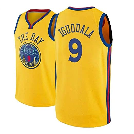 AKCHIUY Camiseta De Baloncesto para Hombre Andre Iguodala # 9 ...