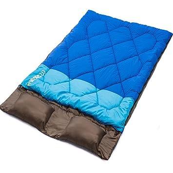 Doble Saco de dormir – huplue sobre portátil saco de dormir interior impermeable cálido saco de