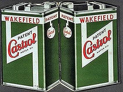 Castrol Aceite De Motor latas. Para bicicleta, coche Motor, barco, motores Raza