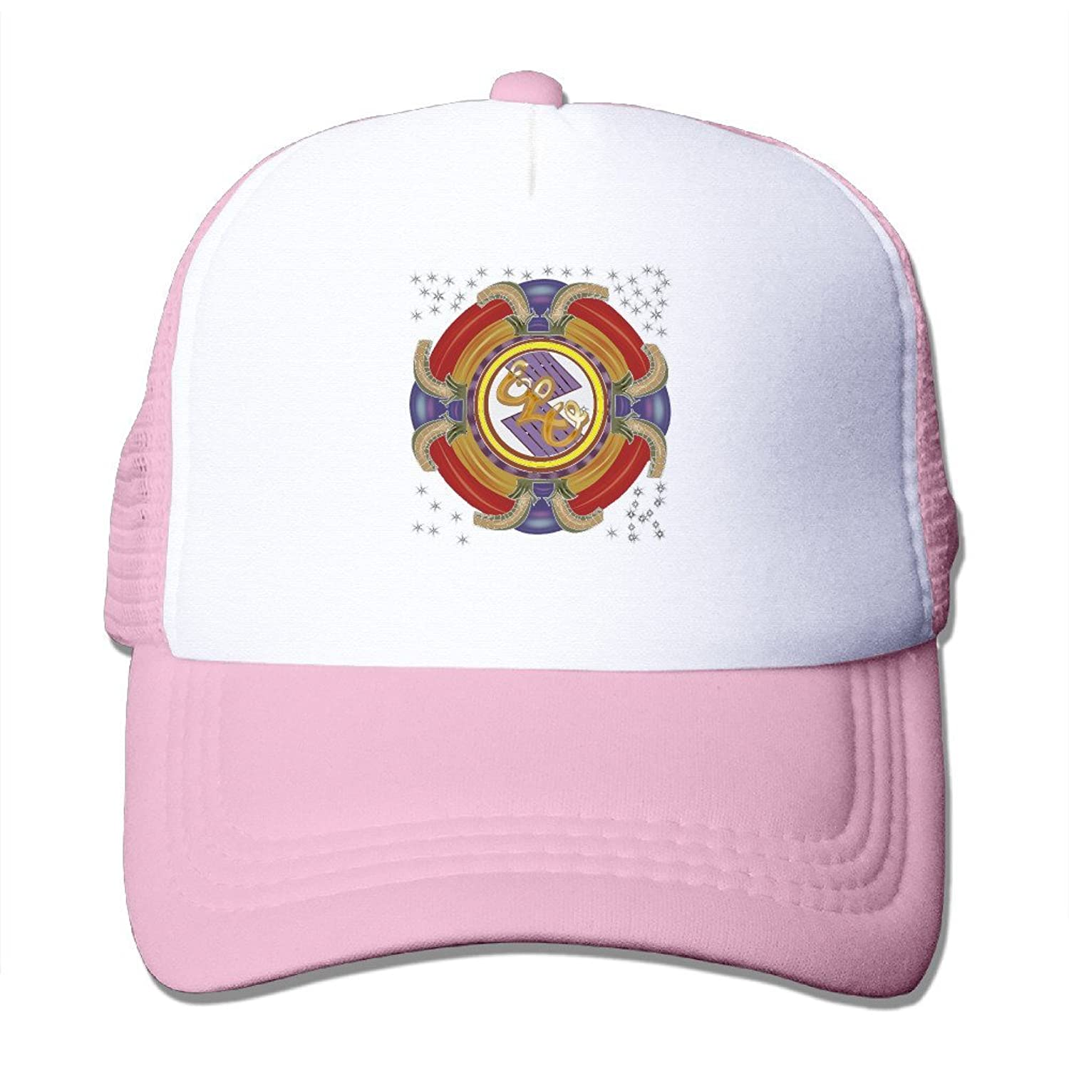 Unisex Cap Black Electric Light Orchestra Rock Band Trucker Hat Cool Hat