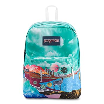 f6001a2b8001 JanSport High Stakes Backpack - Collage Kingdom