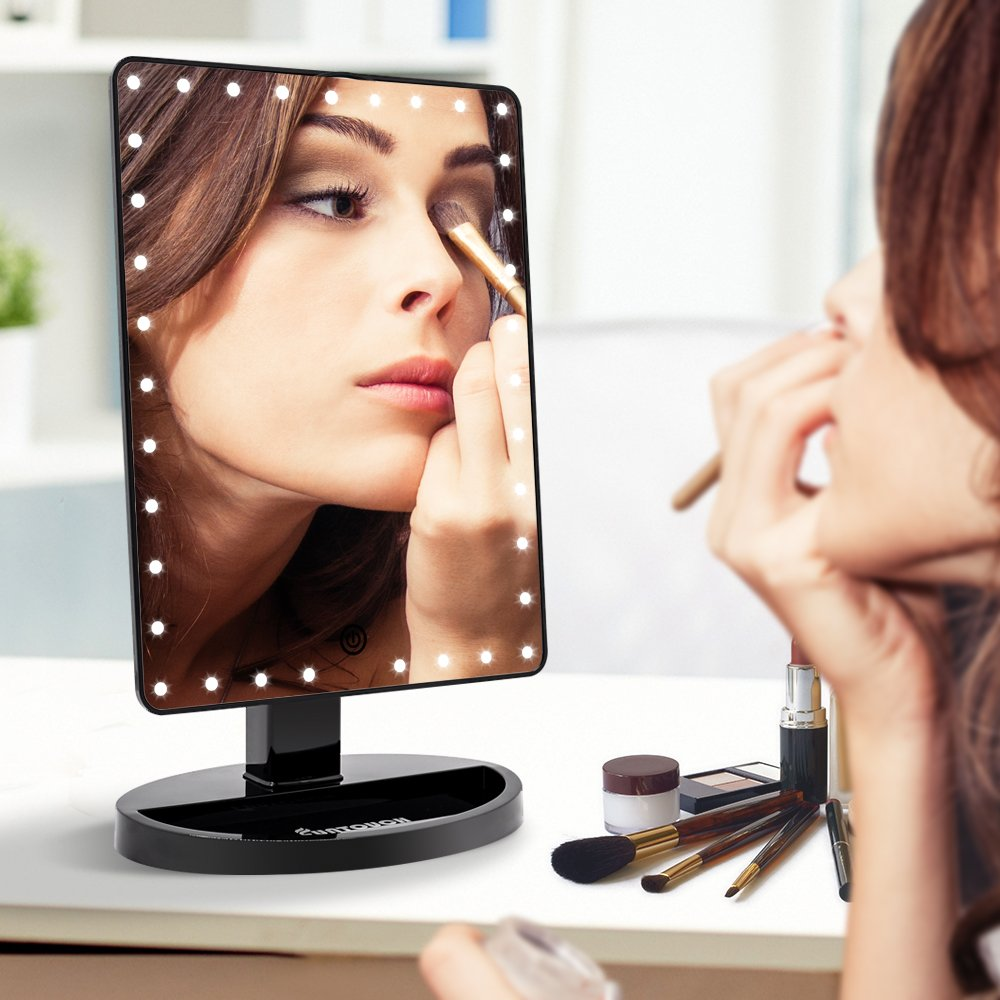 Amazon coupon code for Large Lighted Vanity Makeup Mirror