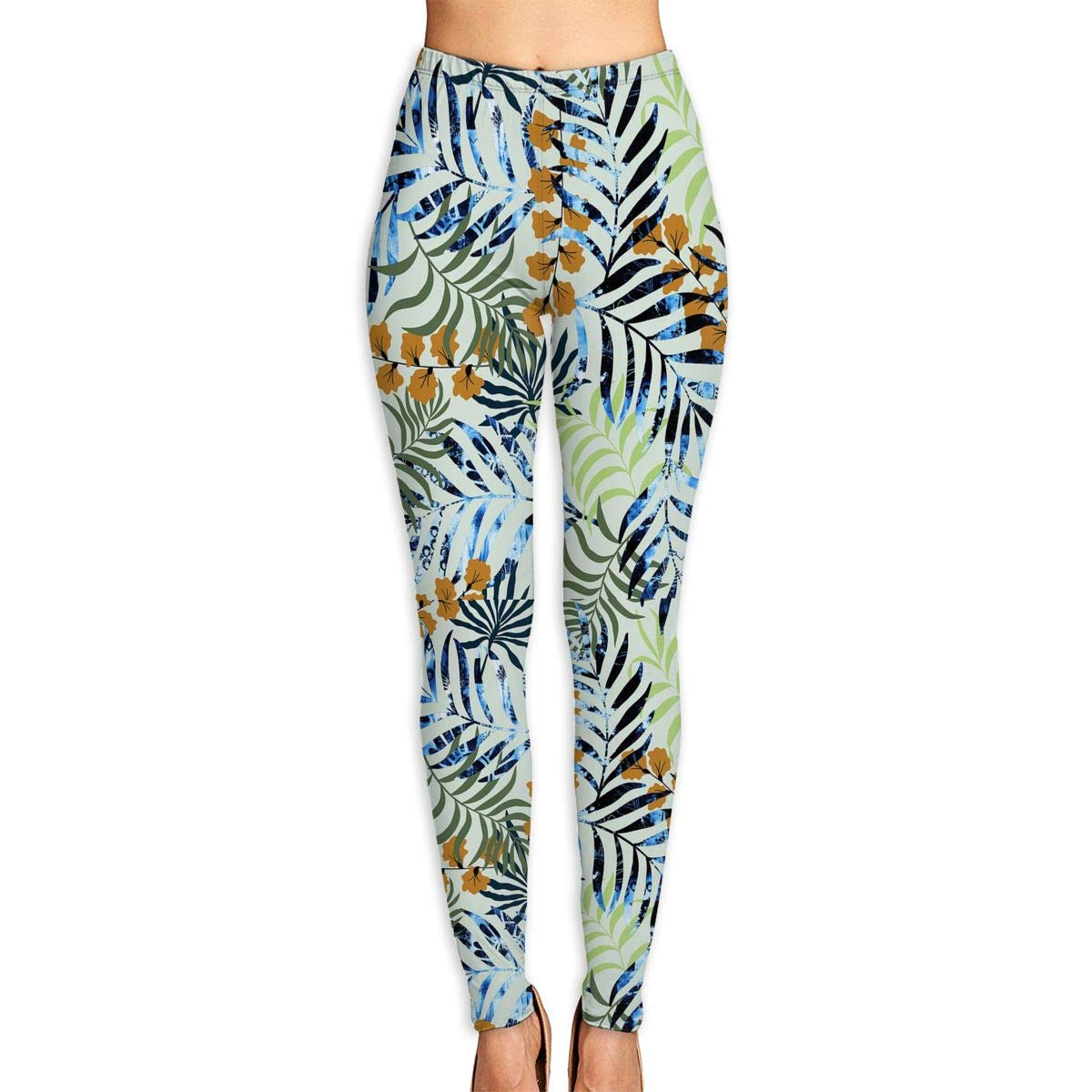 Ayf-S478 Flower in The Tree Womens Yoga Pants Sports Workout Leggings Athletic Tight Pants Fitness Power Stretch Yoga Leggings Tummy Control