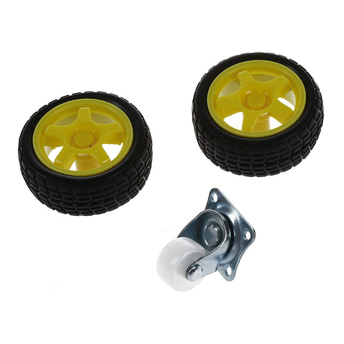 SODIAL(R) Kit Chasis WST inteligente de motores Robot Car velocidad Encoder Caja de bateria: Amazon.es: Juguetes y juegos