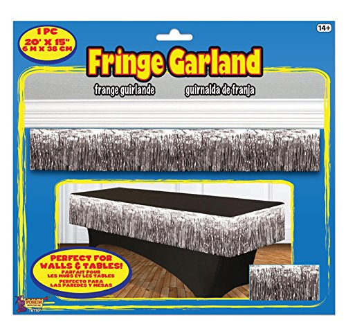 Forum Novelties 76110 Party Supplies Tinsel Fringe Garland, 20