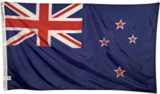 product image for 5x8' New Zealand Flag - All Weather Nylon & Reinforced Fly End Stitching - Made in USA